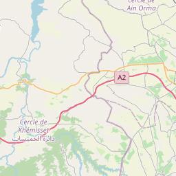 Map of Khemisset
