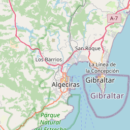 Map of Tangier