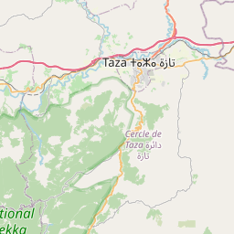 Map of Taza