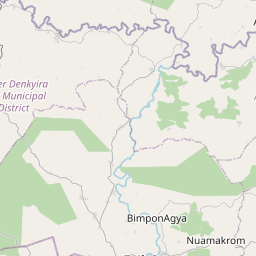 Map of Obuasi
