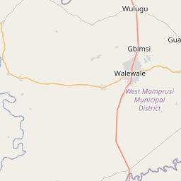 Map of Bolgatanga