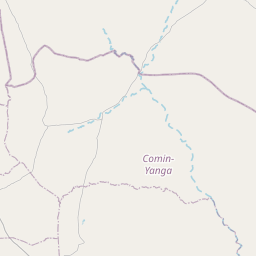 Map of Kouritenga
