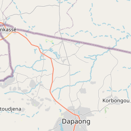 Map of Dapaong