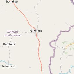Map of Sotouboua