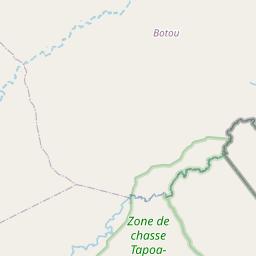 Map of Diapaga