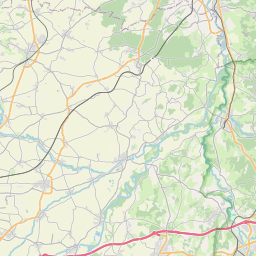 Map of Clermont-Ferrand
