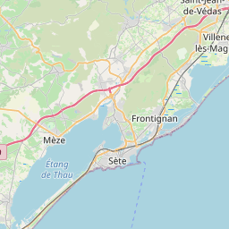 Map of Montpellier