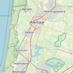 Map of Alkmaar