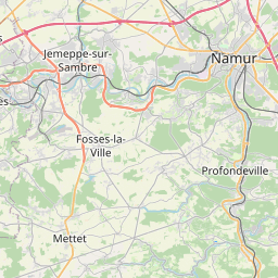 Map of Namur