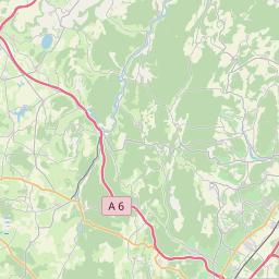 Map of Dijon