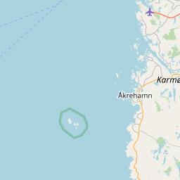 Map of Haugesund