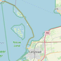 Map of Almere