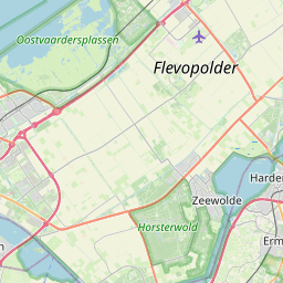 Map of Amersfoort