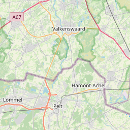 Map of Genk