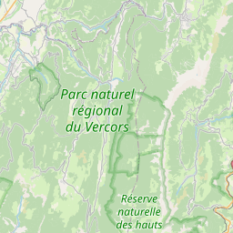 Map of Grenoble