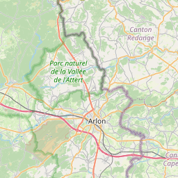 Map of Belvaux