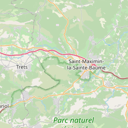 Map of Aix-en-Provence