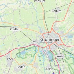 Map of Groningen