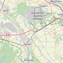 Map of Aachen