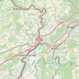 Map of Bertrange