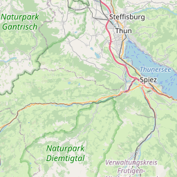 Map of Thun