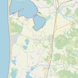 Map of Holstebro