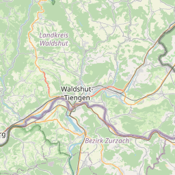 Map of Schaffhausen