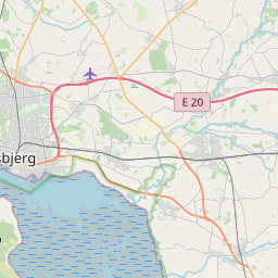 Map of Esbjerg