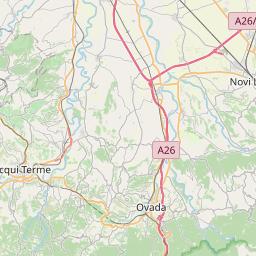 Map of Genoa