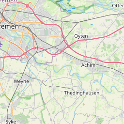 Map of Bremen