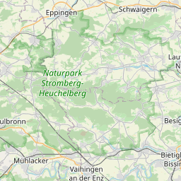 Map of Karlsruhe