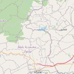 Map of Jendouba