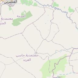 Map of Kasserine