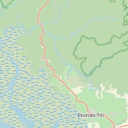 Map of Kumba