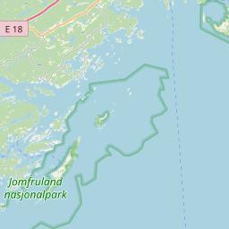 Map of Larvik