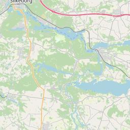 Map of Silkeborg