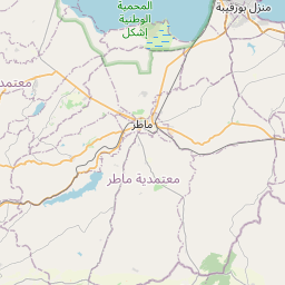Map of Bizerte