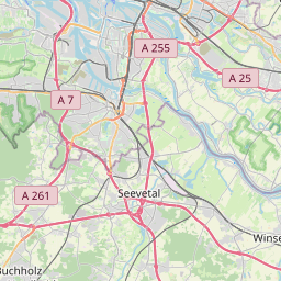 Map of Wandsbek