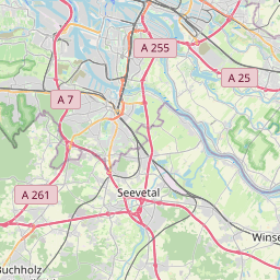 Map of Hamburg