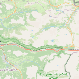 Map of Chur