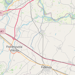 Map of Parma