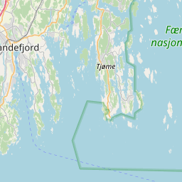 Map of Sandefjord