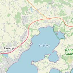 Map of Randers