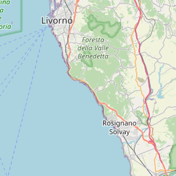 Map of Livorno
