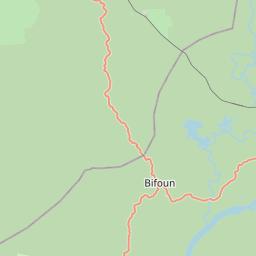 Map of Zoulameyong