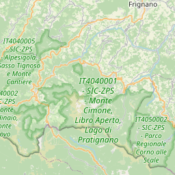 Map of Prato