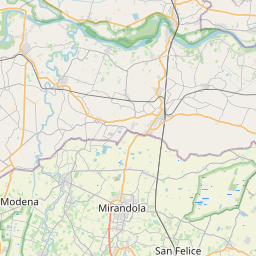 Map of Modena