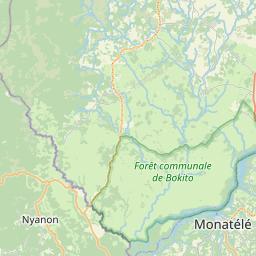 Map of Bafia