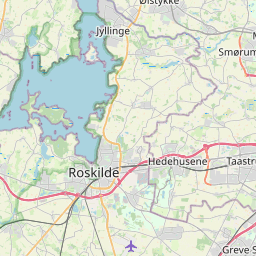 Map of Roskilde
