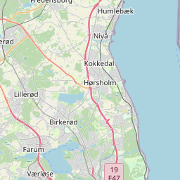 Map of Copenhagen